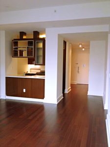 Pristine One Bedroom with Luxury Mahogany Finishes in Condo Building photo