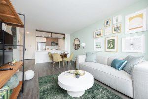 No Fee, Newly Renovated, Luxury 1 Bedroom with Amazing Skyline Views + W/D! photo