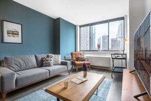 No Fee Luxury 2 bedroom, 2 bath – Midtown West. Amazing Views + W/D! photo