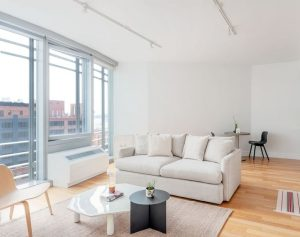 Gorgeous, Sun Drenched One Bedroom with Home Office and Breathtaking River and City Views photo